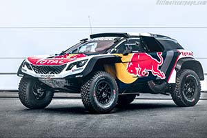 Click here to open the Peugeot 3008 DKR Maxi gallery