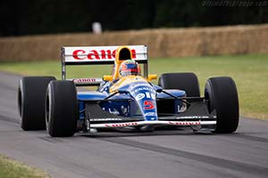 Click here to open the Williams FW14B Renault  gallery