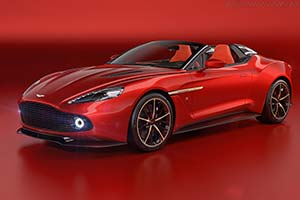 Click here to open the Aston Martin Vanquish Zagato Speedster gallery