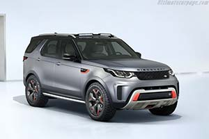 Click here to open the Land Rover Discovery SVX gallery