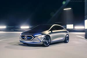 Click here to open the Mercedes-Benz Concept EQA gallery