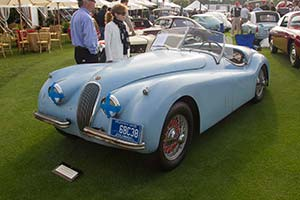 Click here to open the Jaguar XK120 SE Roadster gallery