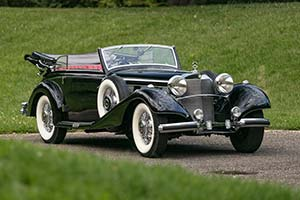 Click here to open the Mercedes-Benz 540 K Cabriolet B gallery