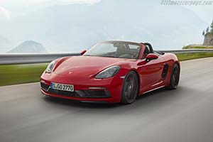 Click here to open the Porsche 718 Boxster GTS gallery