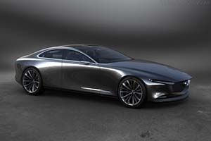 Click here to open the Mazda Vision Concept gallery