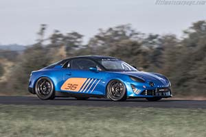 Click here to open the Alpine A110 Cup gallery