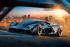 Click here to open the Lamborghini Terzo Millennio gallery