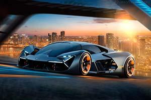 Click here to open the Lamborghini Terzo Millennio gallery