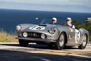 Click here to open the Ferrari 250 GT LWB California Spyder Competizione  gallery