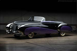 Click here to open the Cadillac Series 62 Saoutchik Cabriolet gallery
