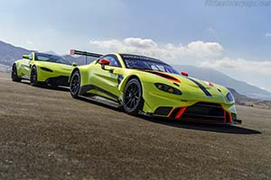Click here to open the Aston Martin Vantage GTE gallery