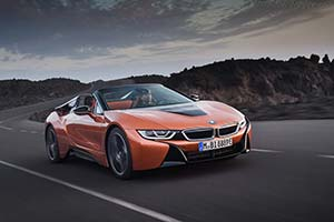 Click here to open the BMW i8 Roadster gallery