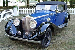Click here to open the Bentley 4¼ Litre Sedanca Coupe gallery
