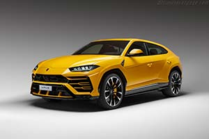Click here to open the Lamborghini Urus gallery