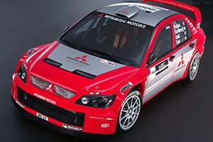 Click here to open the Mitsubishi Lancer WRC04 gallery