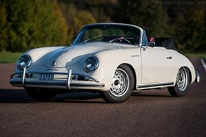 Click here to open the Porsche 356 A Carrera 1600 GS Cabriolet gallery