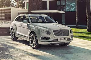 Click here to open the Bentley Bentayga Hybrid gallery