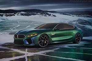 Click here to open the BMW Concept M8 Gran Coupe gallery