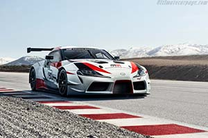Click here to open the Toyota GR Supra Racing Concept gallery