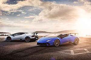 Click here to open the Lamborghini Huracán Performante Spyder gallery