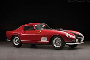 Click here to open the Ferrari 250 GT TdF Scaglietti '3-Louvre' Coupe  gallery