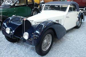 Click here to open the Bugatti Type 57 S Aravis Drophead Coupe gallery