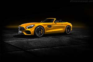 Click here to open the Mercedes-AMG GT S Roadster gallery