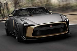 Click here to open the Nissan GT-R50 by Italdesign gallery