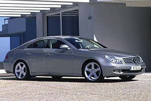 Click here to open the Mercedes-Benz CLS 500 gallery