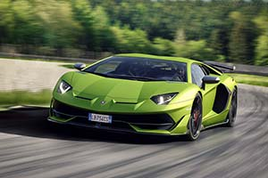 Click here to open the Lamborghini Aventador SVJ gallery