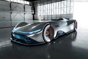 Click here to open the Mercedes-Benz Vision EQ Silver Arrow gallery