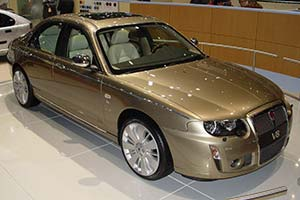 Click here to open the Rover 75 V8 gallery