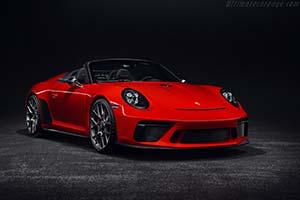 Click here to open the Porsche 911 Speedster Concept II gallery