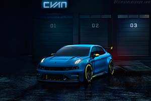 Click here to open the Lynk & Co 03 Cyan TCR Concept gallery