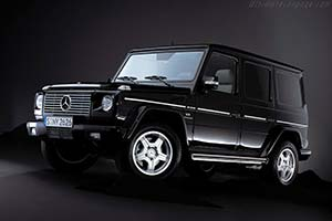 Click here to open the Mercedes-Benz G 55 AMG gallery