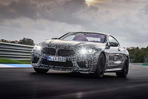 Click here to open the BMW M8 Gran Coupe gallery