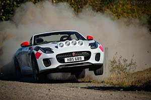 Click here to open the Jaguar F-Type Convertible Rally Car gallery