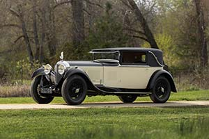 Click here to open the Bentley Speed Six Mulliner Sportsman's Saloon gallery