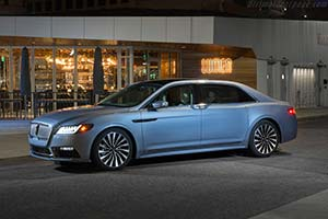 Click here to open the Lincoln Continental 80th Anniversary Coach Door gallery