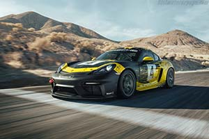 Click here to open the Porsche 718 Cayman GT4 Clubsport gallery