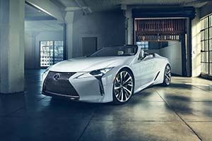 Click here to open the Lexus LC Convertible Concept gallery