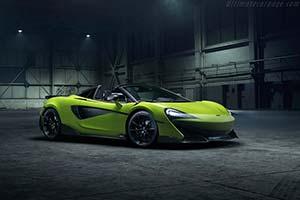 Click here to open the McLaren 600LT Spider gallery