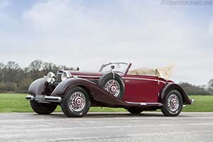Click here to open the Mercedes-Benz 540 K Cabriolet A  gallery