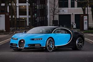 Click here to open the Bugatti Chiron  gallery