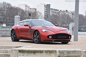 Click here to open the Aston Martin Vanquish Zagato Shooting Brake gallery