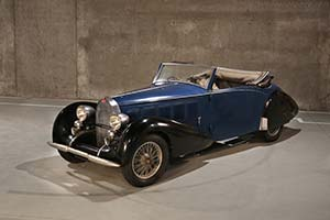 Click here to open the Bugatti Type 57 Graber Cabriolet  gallery