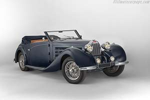 Click here to open the Bugatti Type 57 C Gangloff Cabriolet  gallery