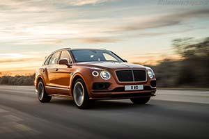 Click here to open the Bentley Bentayga Speed gallery
