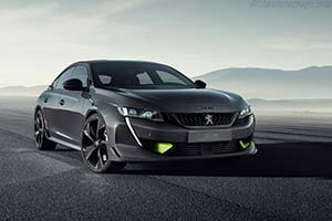 Click here to open the Peugeot 508 Peugeot Sport Engineered Concept gallery