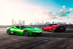 Click here to open the Lamborghini Huracán EVO Spyder gallery